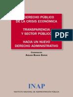 El Derecho Publico Crisis Economica