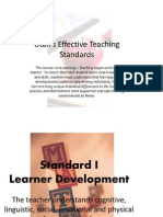 utah effective teaching standards