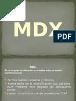 Fundamentos Básicos MDX