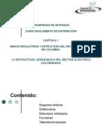 1_4 Estructura Jeráraquica Sector Eléctrico en Colombia