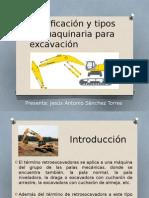 Clasificación y Tipos de Maquinaria Para Excavación