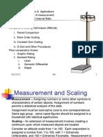 Measurement, Scaling, Attitude Measurement