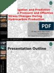 Investigation and Prediction of Pore Pressure and Effective