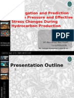 Investigation and Prediction of Pore Pressure and Effective