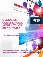 Gerencia de Mercados Medios Alternativos de Comunicacion Colombia
