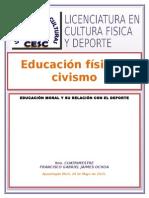 FORMACION CIVIVA Y DEPORTE