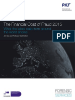 PKF the Financial Cost of Fraud 2015