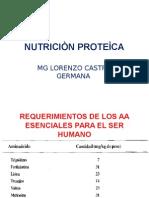 NUTRICION PROTEICA