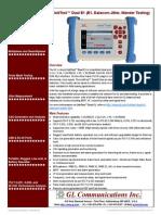 Linktest Dual e1 Brochure