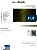 creating magazine layouts