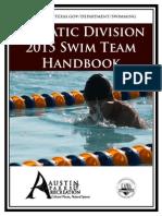 parent & athlete handbook 2015