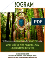 Program - Wolf and Wildlife Conservation & Coexistence Conference