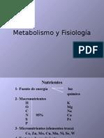 metabolismo_fisiologia. Microbiologia