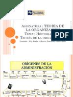 SEPARATA 2 Historia de Las Teorías de La Organización