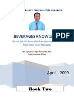 BEVERAGES KNOWLEDGE