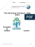 Group 4 Project Personal Contribution