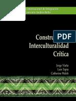 Viaña.reconceptualizando La Interculturalidad