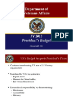 Fy2013 Budget Rollout