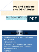 Stairways and Ladders Osha