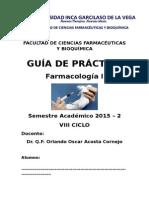 2015 2 GuÃ-A FarmacologÃ-A I (1)