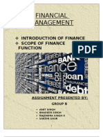 Finance is the Set of Activities Dealing With the Management of Funds