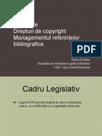 Licențiere; dreptul de copyright 2015