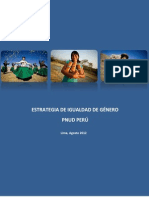 Igualdad de Genero de PNUD Peru