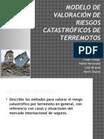 Modelo de Valoración de Riesgos Catastróficos de Terremotos
