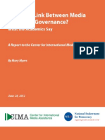 CIMA-Good Governance Academics Survey- 07-06-12 FINAL