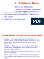 Chapter 3 - Relational Model