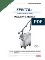 Manual de Operador Spectra