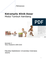 Buku Panduan KKD Tumbuh Kembang 2012