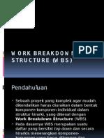 03-Work Breakdown Structure (WBS)