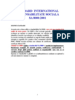 SA 8000 - Responsabilitate Sociala