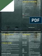 Chronicles of Riddick - Manual GB