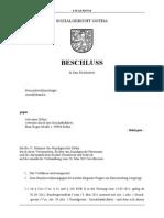 «Gotha» Beschluss - zur Verfassungswidrigkeit der Agenda 2010