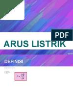169854461 Materi 4 Arus Listrik Ppt