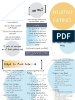 intuitive eating brochure