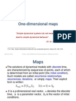 2015 One-dimensional Maps