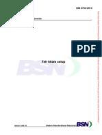 SNI 3753-2014 Teh Hitam Celup
