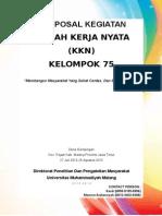 Proposal KKN 75 Keseluruhan