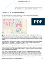 Big Data_Are We Making a Big Mistake_FT