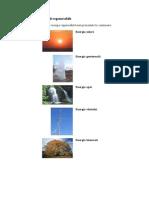 Tipuri de Energii Regenerabile