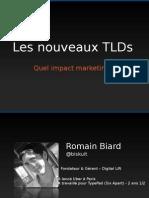 Impact marketing des nouvelles extensions de noms de domaine (new gTLD)