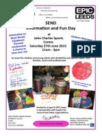 SEND Info-fun Day Poster