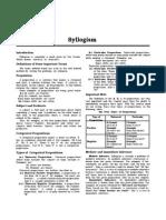 syllogism study material