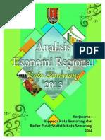 Analisis Ekonomi Regional Kota Semarang 2013