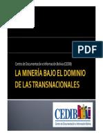 La Minería Bajo El Dominio de Las Transnacionales3