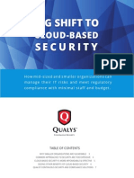 Qualys Big Shift to Cloud Based Security