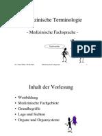 termeni medicali germana